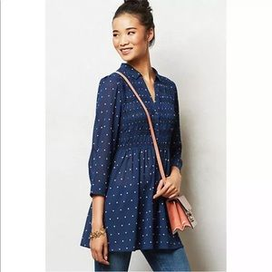 Vanessa Virginia - Belinda polka dot tunic top